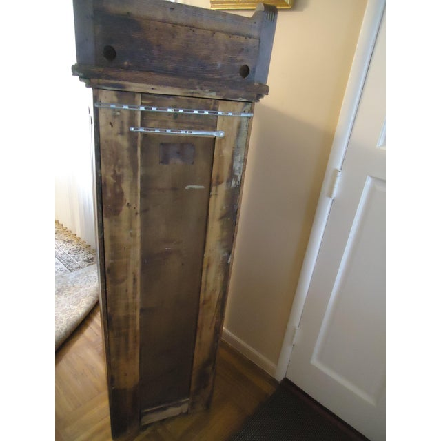 1870- 1893 Antique Nelson Matter & Co. Mahogany Carved Wood File Storage Cabinet For Sale - Image 9 of 11