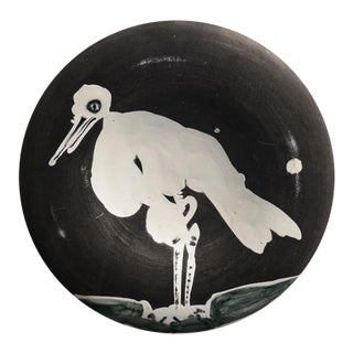 Pablo Picasso, Oiseau No. 83 (Bird No. 83), Ceramic Plate, 1963, 149/200 For Sale