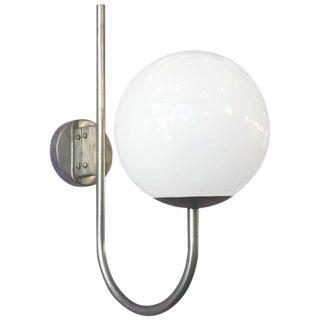 1960s Vintage Sergio Mazza Murano Glass Globe Sconce For Sale