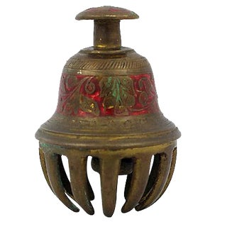 Brass Claw Bell For Sale