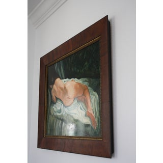 Signed and Framed Nude Oil Painting on Panel Preview