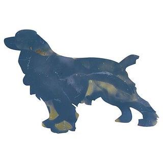 Large Metal Dog Silhouette