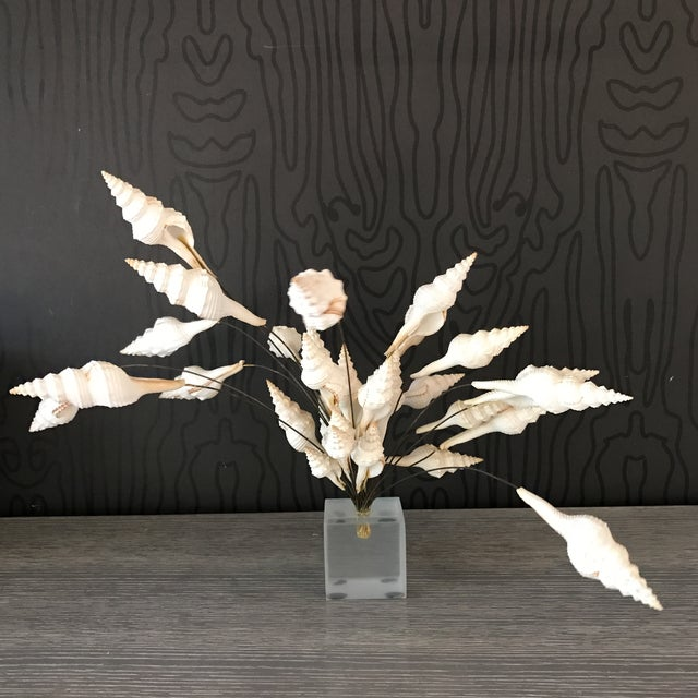 Seashell Bouquet Sculpture - Image 2 of 8