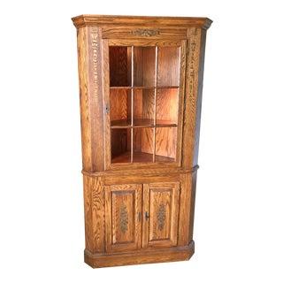 L. Hitchcock Roxbury Corner Cabinet