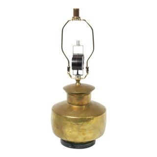 Brass Leviton Lamp