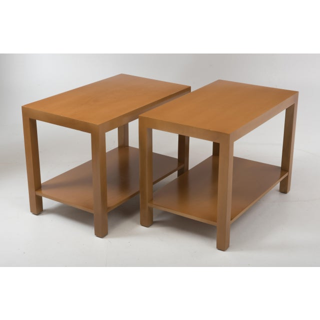 1940s T.H. Robsjohn Gibbings Widdicomb Parsons End Tables - a Pair 1949 For Sale - Image 5 of 13