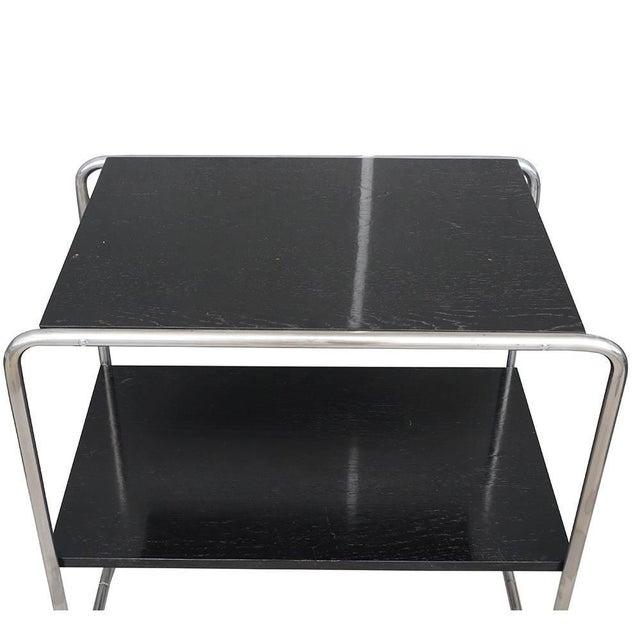 Marcel Breuer 20th Century Marcel Breuer Bauhaus Console Tables - a Pair For Sale - Image 4 of 5