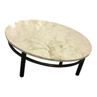 T.H. Robsjohn-Gibbings Marble Coffee Table