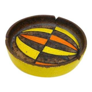 Italian Mid-Century Modern Pottery Ashtray
