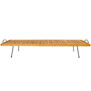 Mid-Century Modern Laverne Bench / Coffee Table by Katavolos, Littell and Kelly For Sale