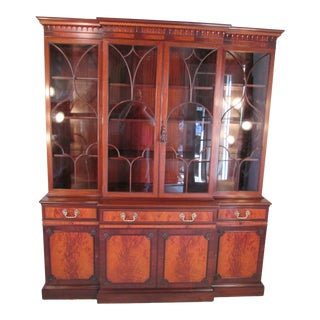 1940s Vintage China Cabinet by Schmieg and Kotzian For Sale