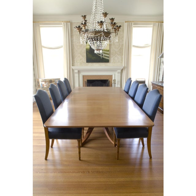 9-Piece Holly Hunt-Style Dining Set - Image 2 of 11