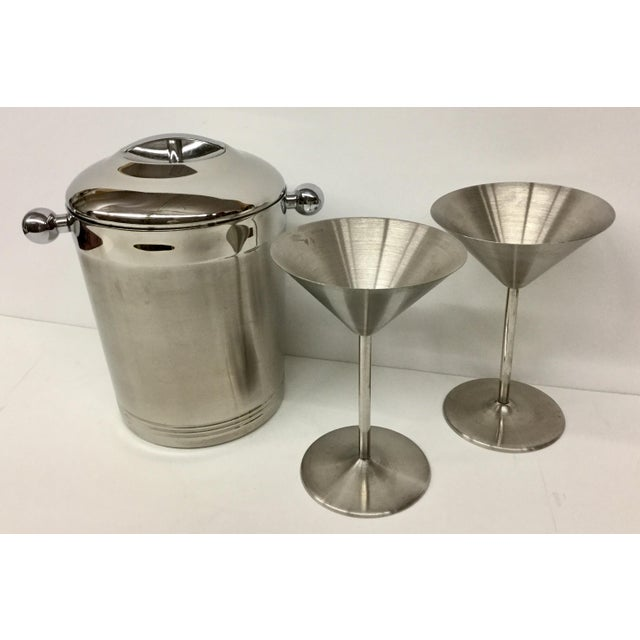1960s Vintage Stainless Copco Martini Set - 3 Pieces For Sale In Boston - Image 6 of 11