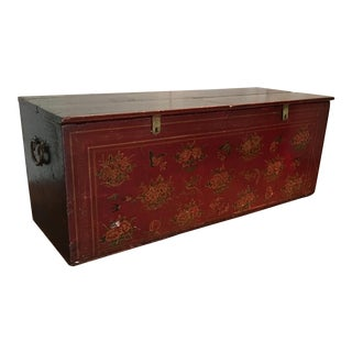Tibetan Painted Storage Trunk