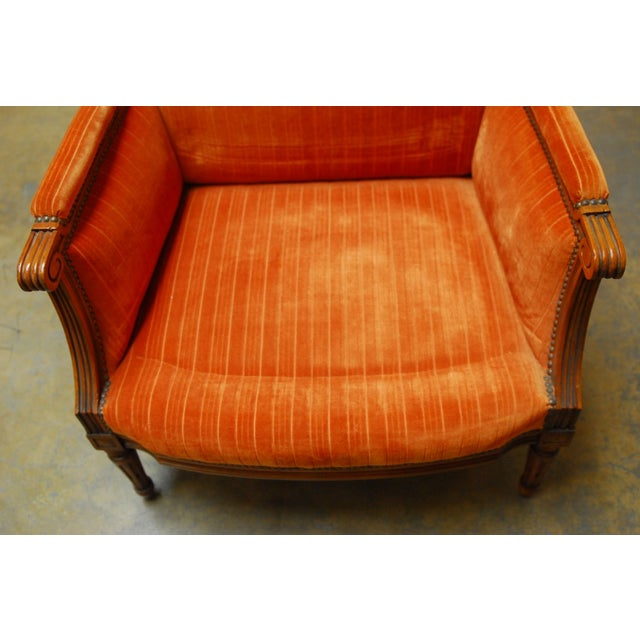 French Louis XVI Style Marquise Armchair - Image 7 of 7