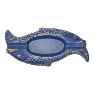 Emilia Castillo Sterling Silver Fish Ashtray For Sale