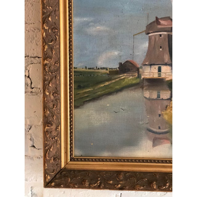 Antique Continental Impressionist Oil Painting For Sale In Atlanta - Image 6 of 13