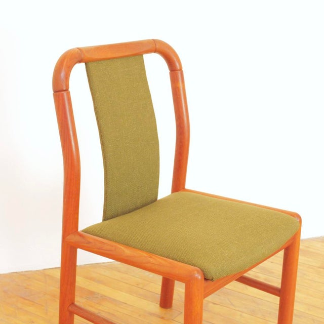1960s Vintage Danish Teak Dining Chairs - Set of 6 For Sale - Image 9 of 11