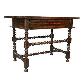 Charles II Oak Tavern Table