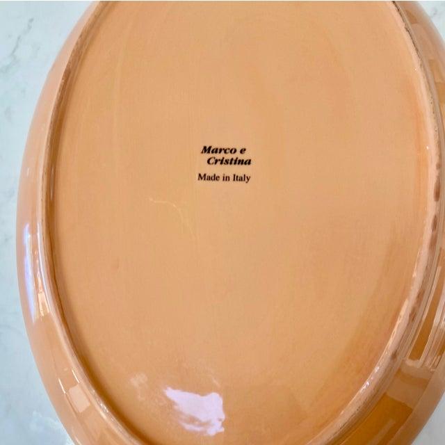 Marco & Cristina Italian Christmas Platter For Sale - Image 4 of 7