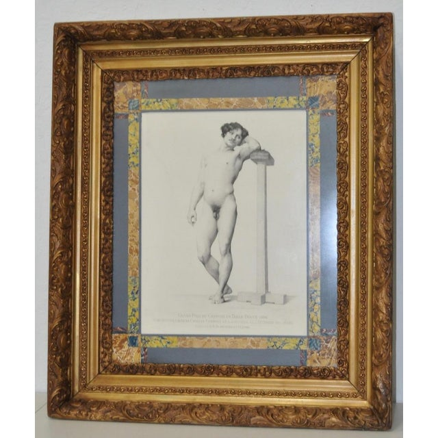 Victorian Antique Engraving by Charles-Laurent Germain For Sale - Image 3 of 9