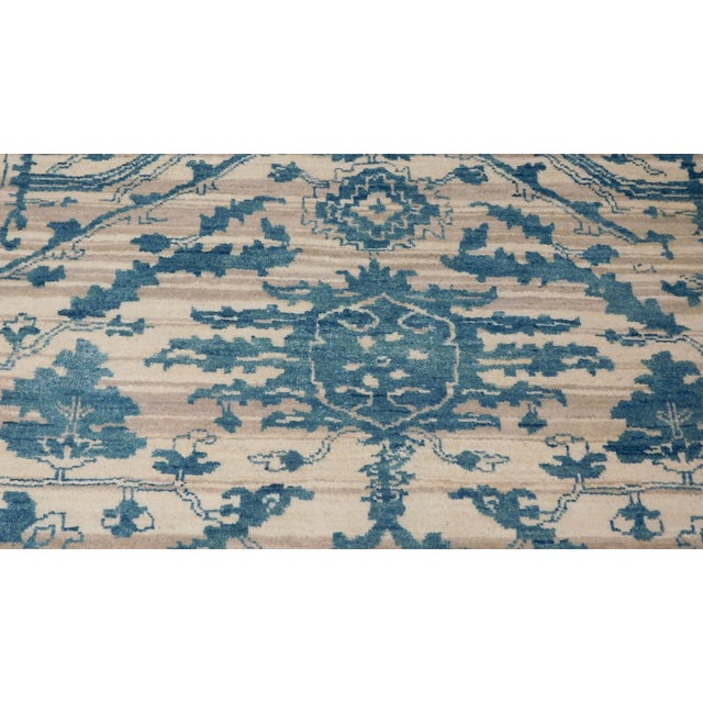 "Erased Hand-Knotted Luxury Rug - 7'10"" X 10'2"" - Image 5 of 10"