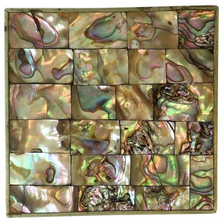 Abalone Seashell Jewelry Box For Sale