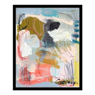 "Medium ""How Peachy"" Print by Lesley Grainger, 19"" X 24"" For Sale"
