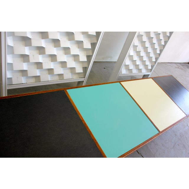 Harvey Probber Colorblock Coffee Table Bench - Image 3 of 10