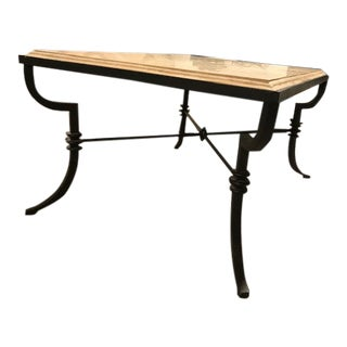 European Ebanista Cantabria Cocktail Table For Sale