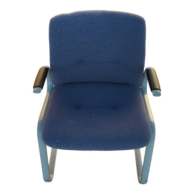 1980s Cantilever Armchair by Steelcase For Sale