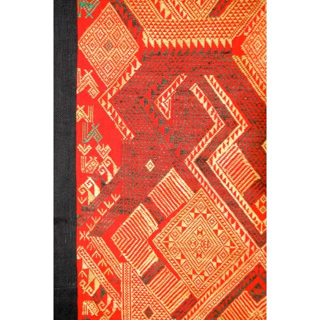 Vintage Laotian Tribal Textile For Sale - Image 4 of 4