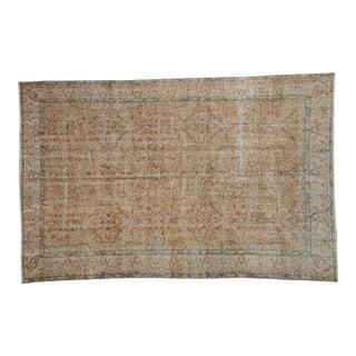 "Vintage Distressed Sparta Carpet - 5'7"" X 8'6"" For Sale"