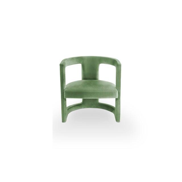 Textile Covet Paris Rukay Bold Armchair For Sale - Image 7 of 8