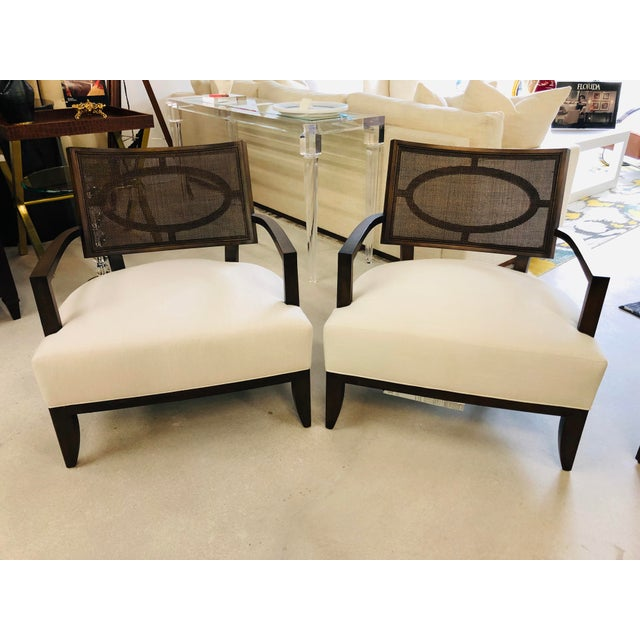 Barbara Barry Chairs - a Pair | Chairish