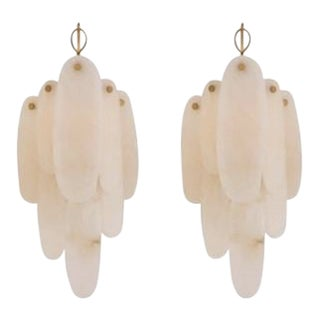 New Visual Comfort Chapman & Myers Casual Cora Medium Waterfall Sconces For Sale
