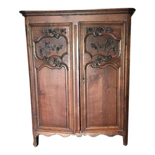 Louis XV Country French Armoire