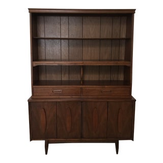 1960s Vintage Danish Style Hutch For Sale
