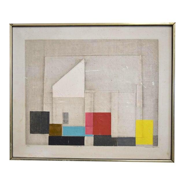 "Final Markdown C. 1967 Norio Azuma ""Image No.7."" Color Serigraph - Image 1 of 7"