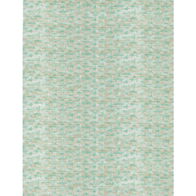 Not Yet Made - Made To Order Ferran Ming Fret Fabric, Sample, Ecru in Belgian Linen For Sale - Image 5 of 5
