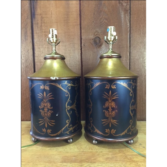 Vintage Whippet Dog Table Lamps - Pair - Image 4 of 11