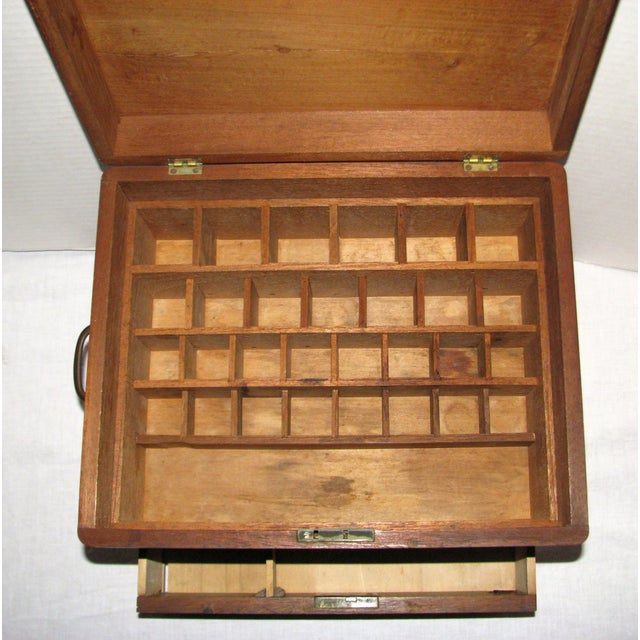 Antique Doctor's Apothecary Cabinet For Sale - Image 4 of 7