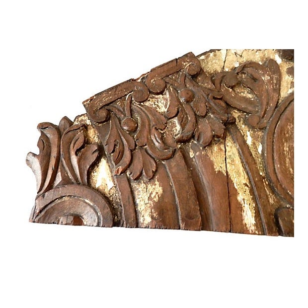 18th-C. Architectural Wood Wall Hanging For Sale In New York - Image 6 of 7