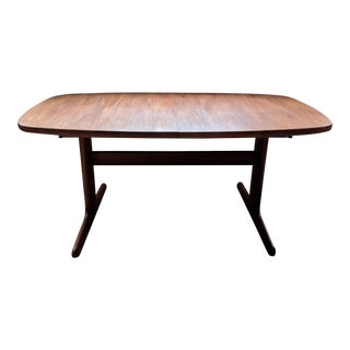 Danish Modern Teak Dining Table - by Skovby Mobelfabrik For Sale