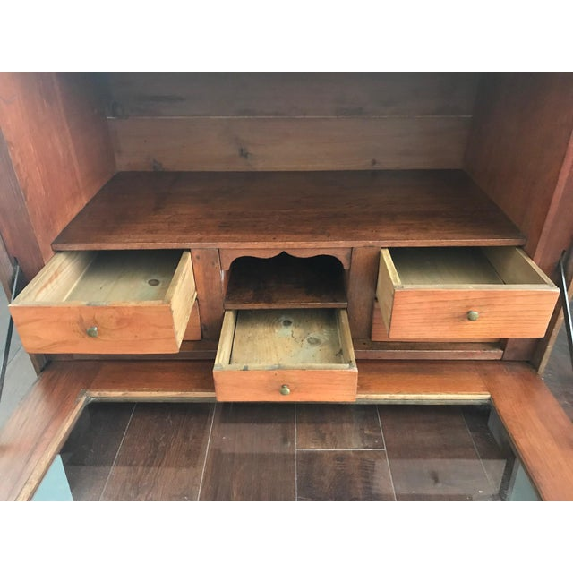 Traditional 19th Century Traditional Cigar Humidor/Secretary Cabinet For Sale - Image 3 of 8