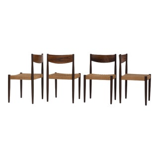 Poul Volther Frem Rojle Dining Chairs No 361 Danish Rosewood Mid Century Modern - a Set of 4 For Sale