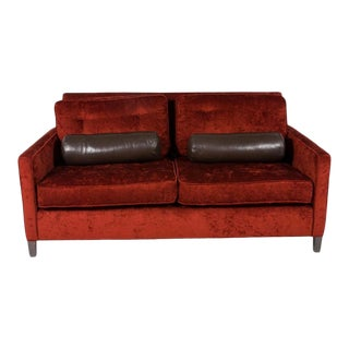 Mid Century Tufted Sofa For Sale