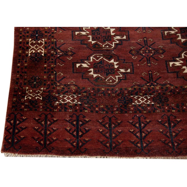 """Islamic Antique Tribal Rug, 3'1"""" X 5'4"""" For Sale - Image 3 of 7"""