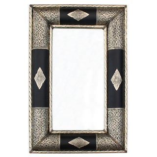 Moroccan Mirror With Moorish Engravings For Sale
