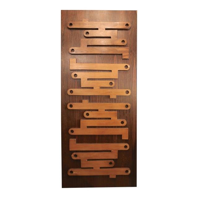 1960s Brazilian Jacaranda Decorative Panel or Door For Sale